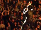Bono sings