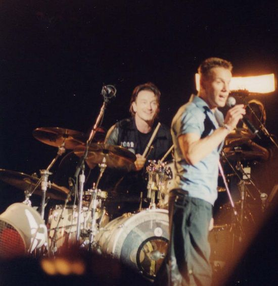 29 larry and bono on drums.jpg